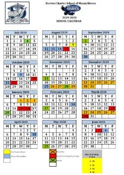 Fiu Calendar 2020 News and Announcements   Doctors Charter School